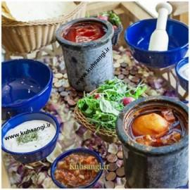 دیزی سنگی یک نفره رستوران سنتی