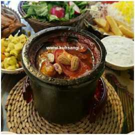 دیزی سنگی دو نفره رستوران سنتی